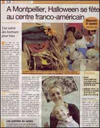 The French-American Center vous pr�sente Halloween