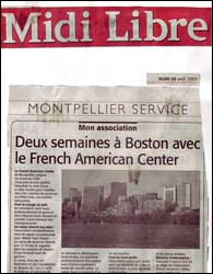 Boston Summer Camps avec le French-American Center