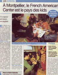Kids School au French-American Center